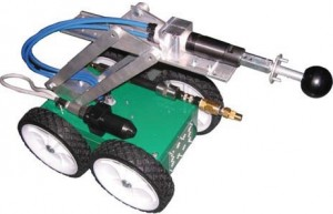 Duct Cleaner Robot